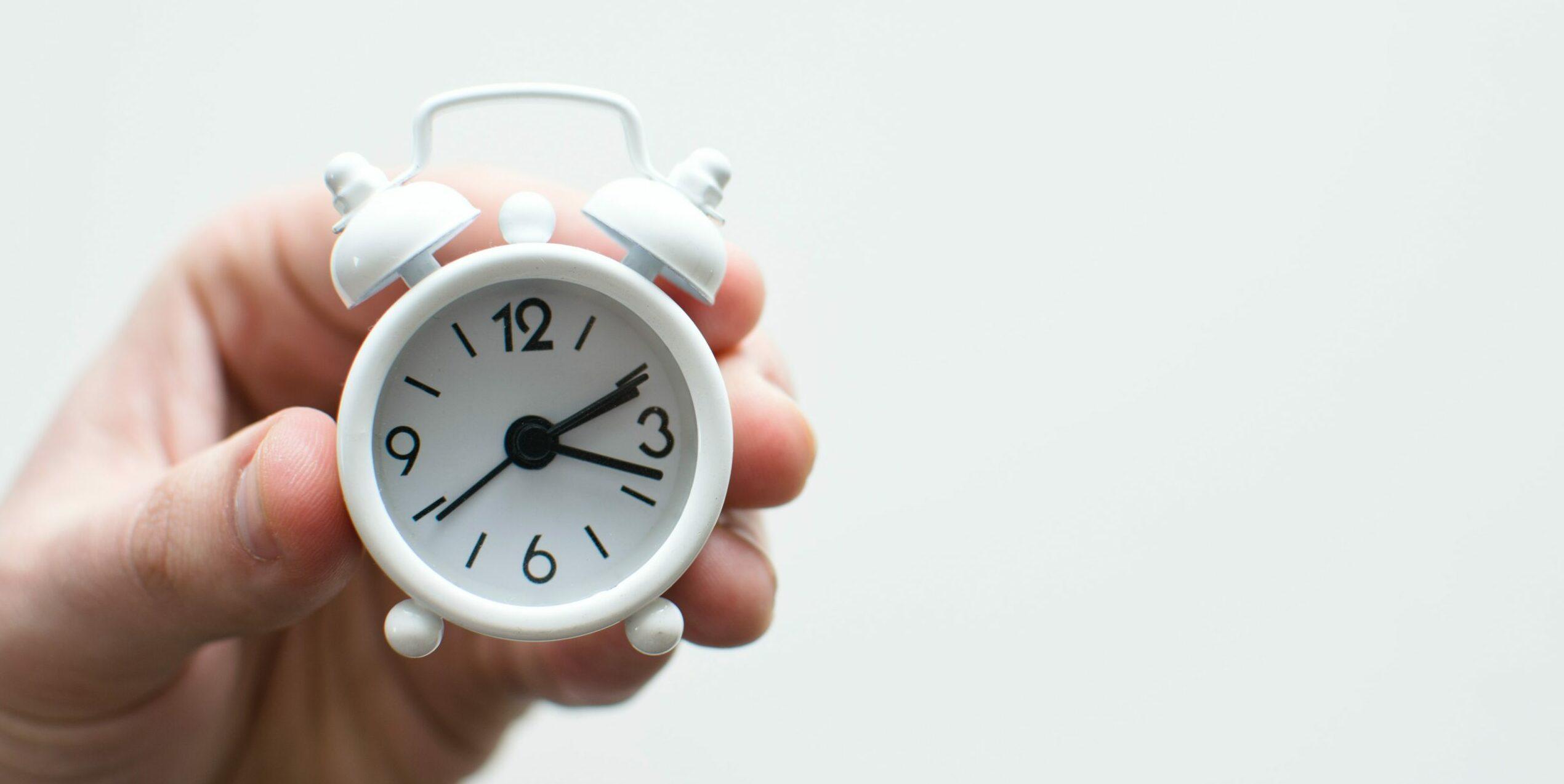 Het wordt tijd? Nee, het was altijd al tijd!